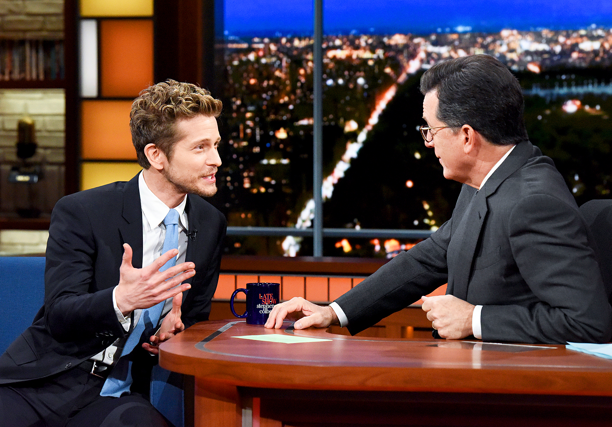 Matt Czuchry on 'The Late Show with Stephen Colbert'