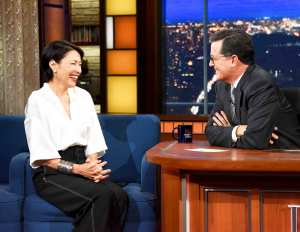Ann Curry on 'The Late Show with Stephen Colbert'