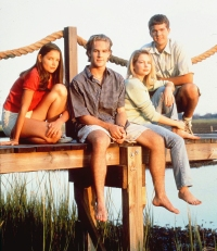 'Dawson's Creek' stars Katie Holmes, James Van Der Beek, Michelle Williams and Joshua Jackson