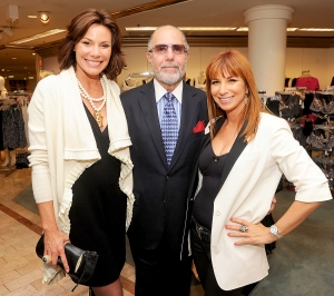 LuAnn de Lesseps, Bobby Zarin and Jill Zarin attend the shape wear and hosiery launch event featuring Skweez Couture by Jill Zarin at Lord And Taylor on October 20, 2011 in New York City.