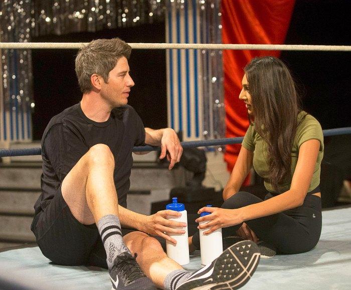 Arie Luyendyk Jr. and Marikh Mathias on 'The Bachelor'