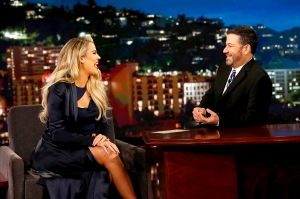 Khloe Kardashian on 'Jimmy Kimmel Live!'