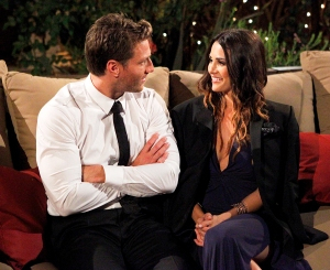 Juan Pablo Galavis and Andi Dorfman on 'The Bachelor'