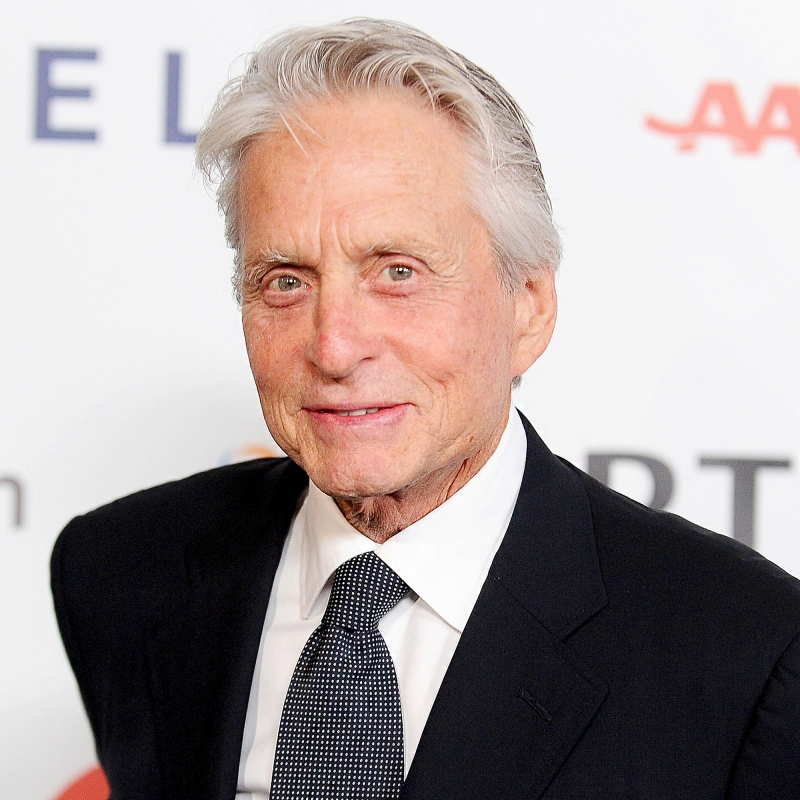 """Michael Douglas attends MPTF's 95th anniversary celebration """"Hollywood's Night Under The Stars"""" on October 1, 2016 in Los Angeles, California."""