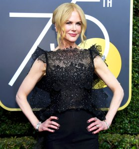 Nicole Kidman arrives to the 75th Annual Golden Globe Awards held at the Beverly Hilton Hotel on January 7, 2018.