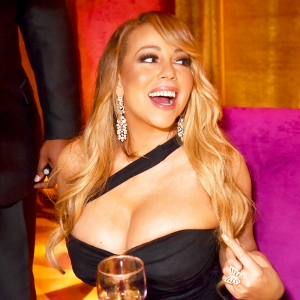 Mariah Carey attends HBO's Official 2018 Golden Globe Awards After Party on January 7, 2018 in Los Angeles, California.