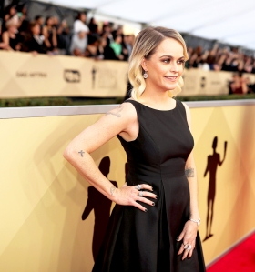 Taryn Manning attends the 24th Annual Screen Actors Guild Awards at The Shrine Auditorium on January 21, 2018 in Los Angeles, California.