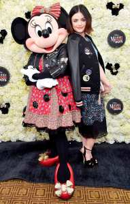Lucy Hale attends Lunch Celebrating Minnie's Star on the Hollywood Walk of Fame and launch of Disney X Coach Collection at Chateau Marmont on January 22, 2018 in Los Angeles, California.