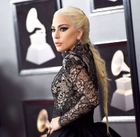 Lady Gaga attends the 60th Annual GRAMMY Awards at Madison Square Garden on January 28, 2018 in New York City.