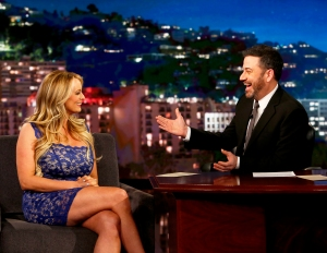 Stormy Daniels on 'Jimmy Kimmel Live!'