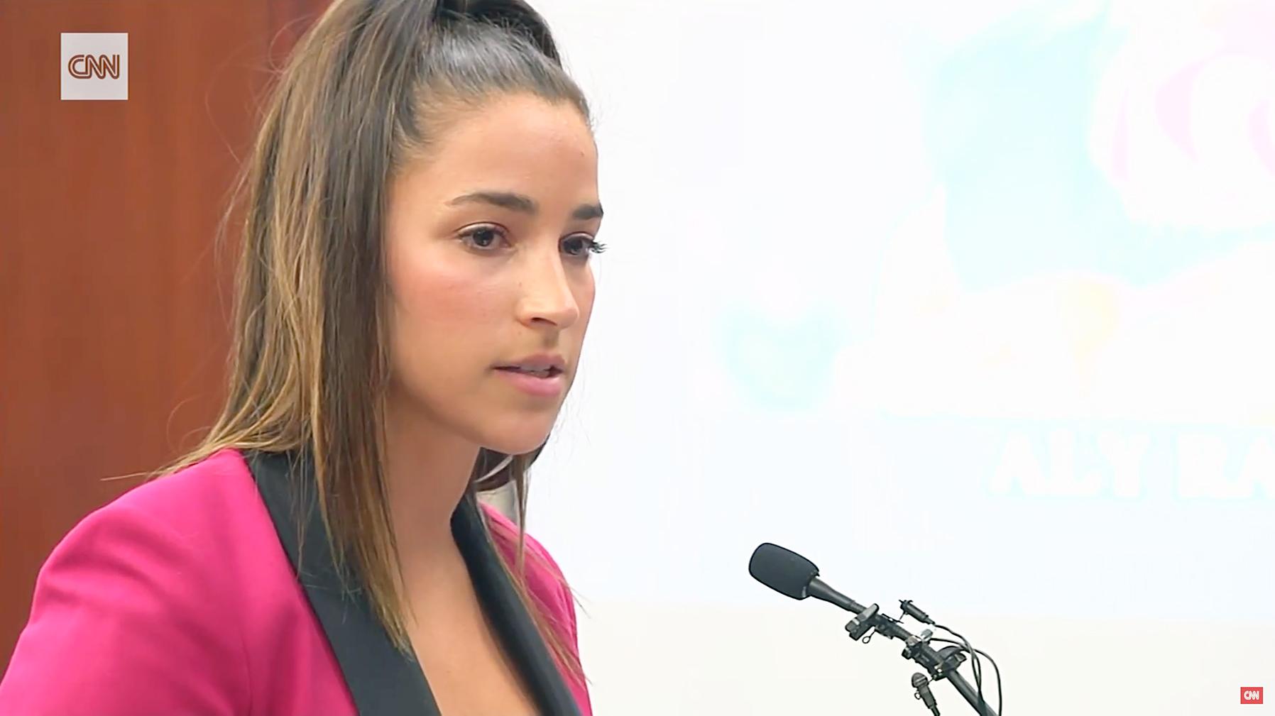 Aly Raisman testimony Larry Nassar
