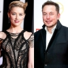 Amber Heard and Elon Musk together
