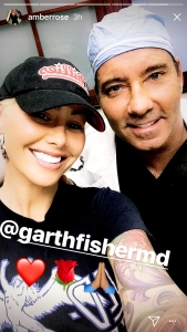 Amber Rose and Garth Fisher