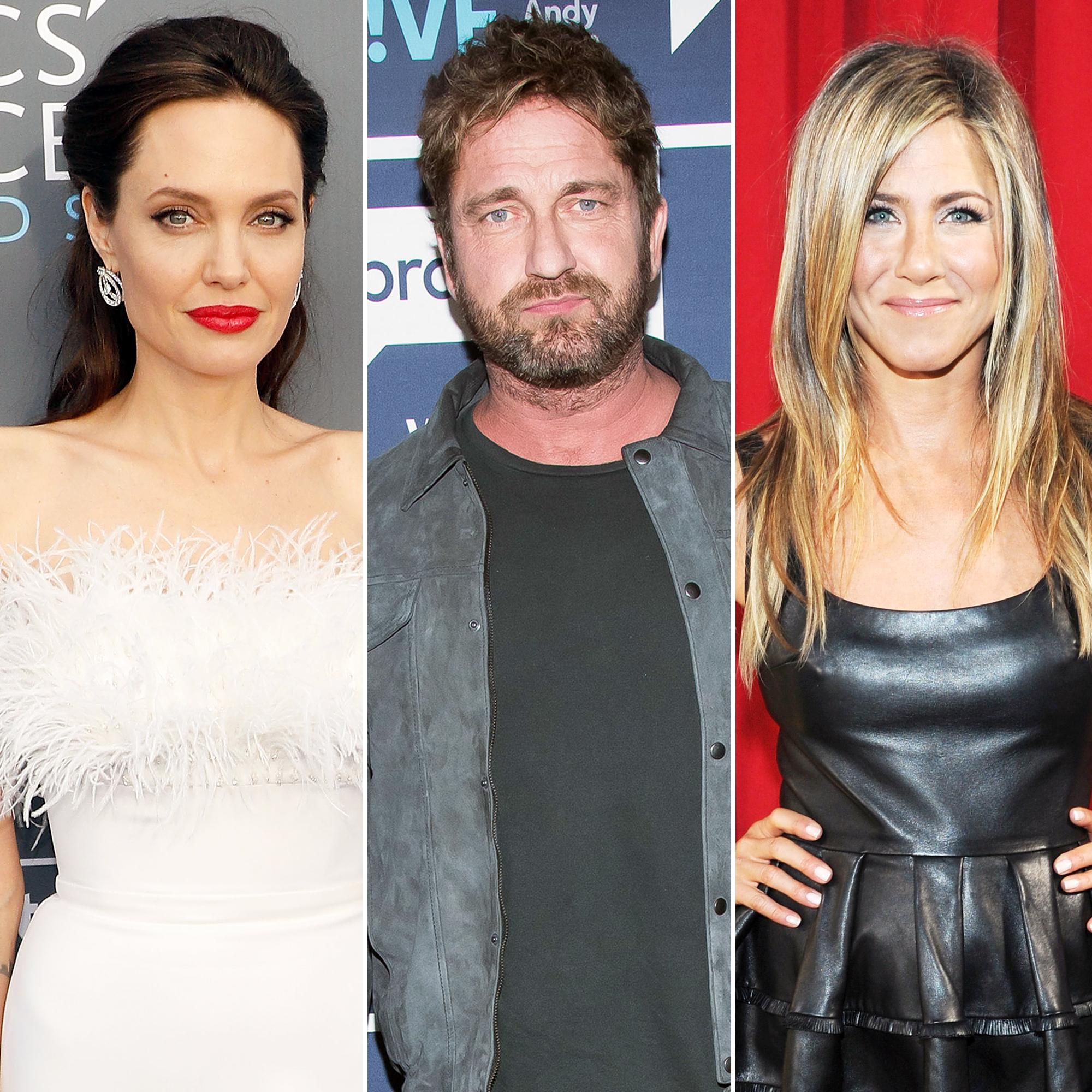 Angelina Jolie Gerard Butler Jennifer Aniston