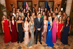 Arie Luyendyk Jr and the contestants on The Bachelor