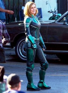 Brie Larson as Carol Danvers in 'Captain Marvel'