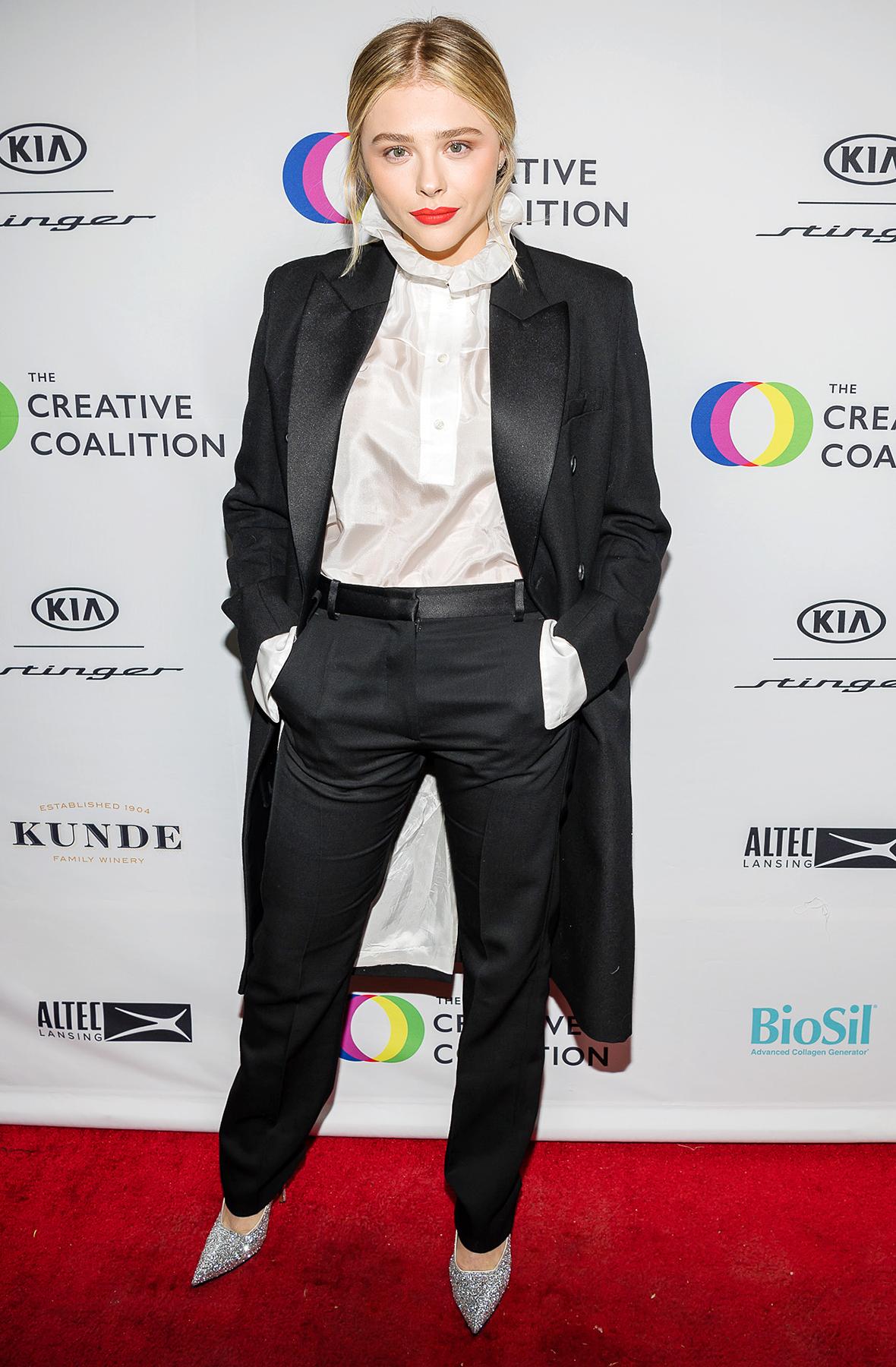 Chloe Moretz Victoria Beckham 2018 Spotlight Initiative Awards Gala Dinner