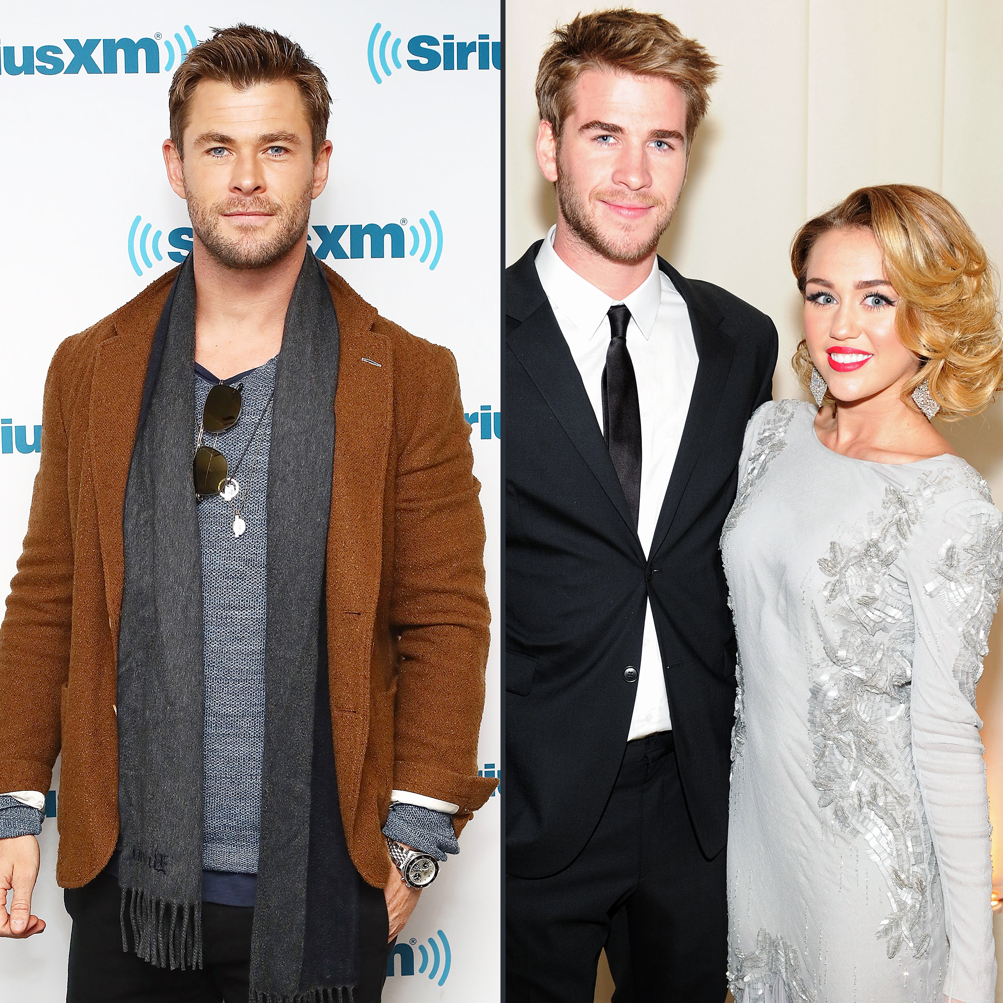 Was miley cyrus dating chris hemsworth
