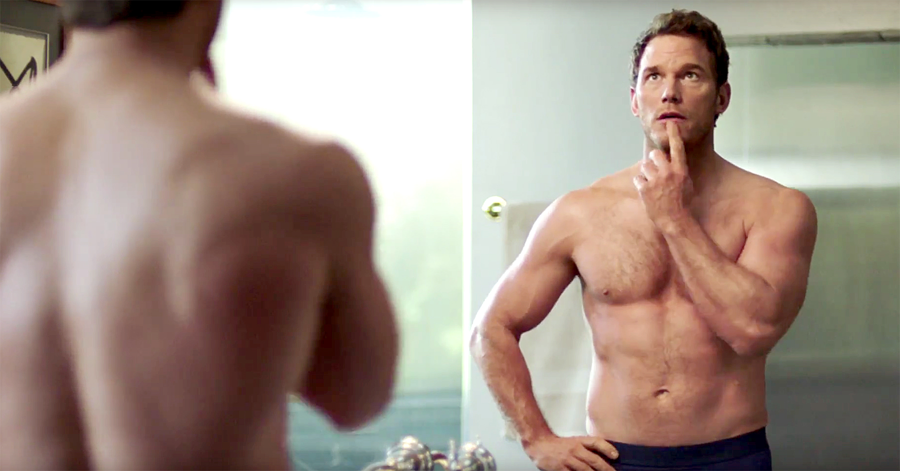 Chris Pratt flaunts ripped body in new Super Bowl ad