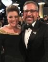 Kelly Clarkson and Steve Carrell