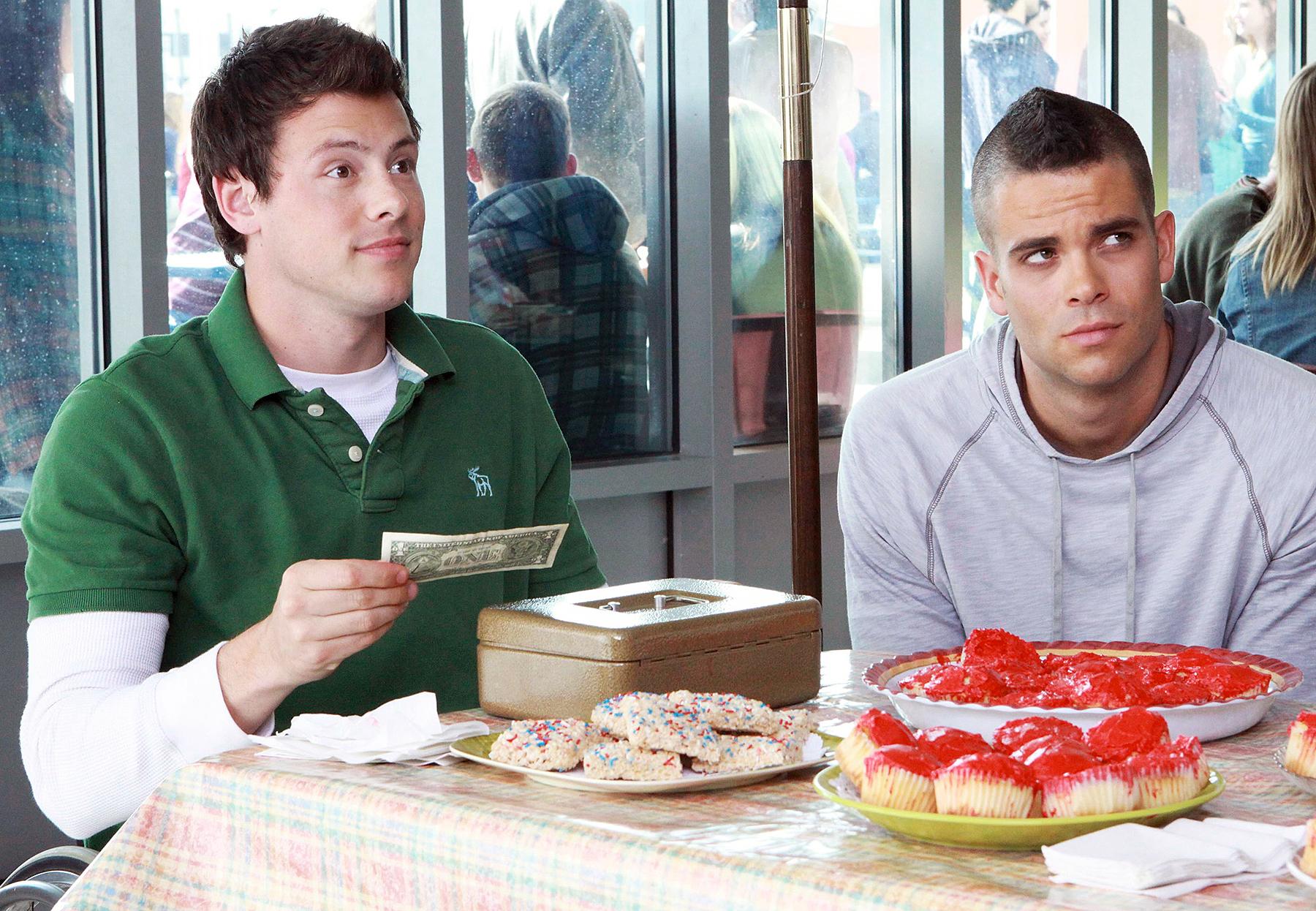 Cory Monteith Mark Salling Glee