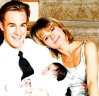 James Van Der Beek and Mary-Margaret Humes