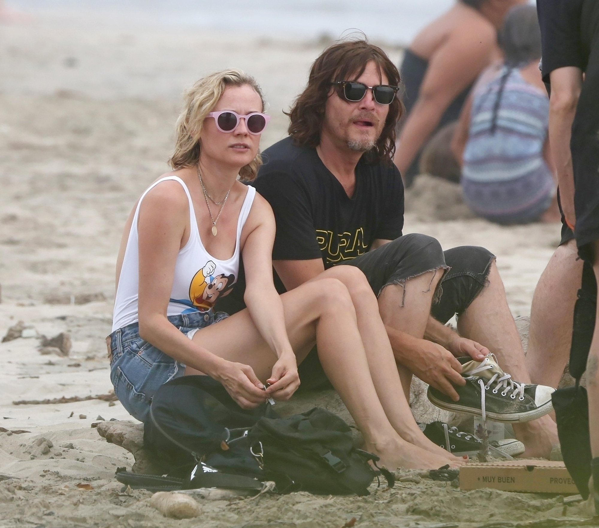 diane kruger and norman reedus - HD 1222×817