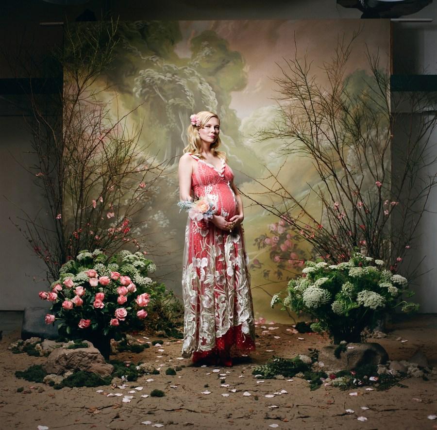 Kirsten Dunst Confirms Pregnancy in New Rodarte Campaign