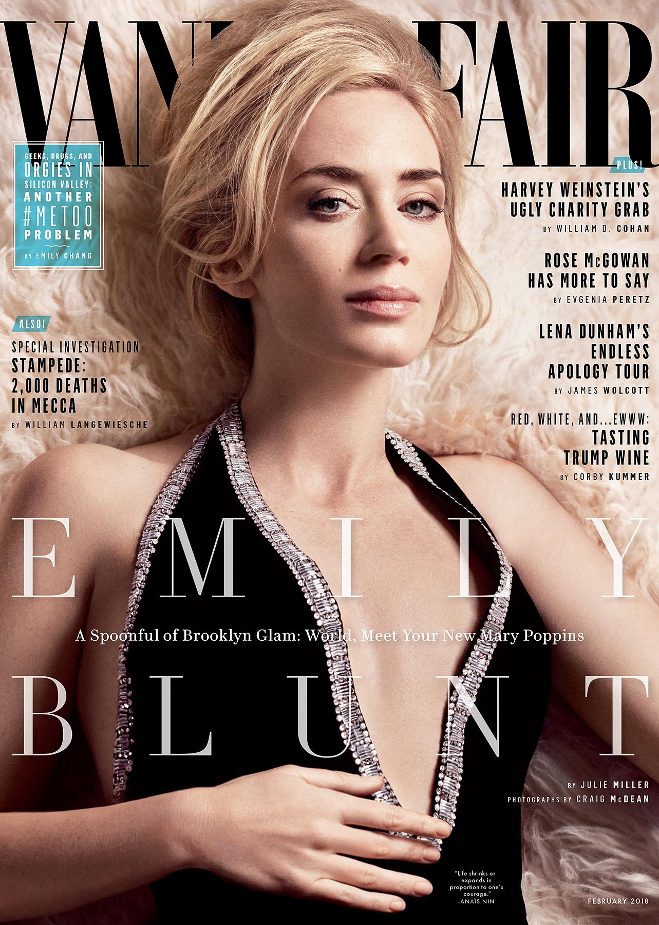 Emily Blunt Vanity Fair cover