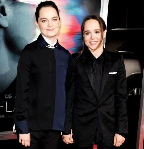 Emma-Portner-and-Ellen-Page-married