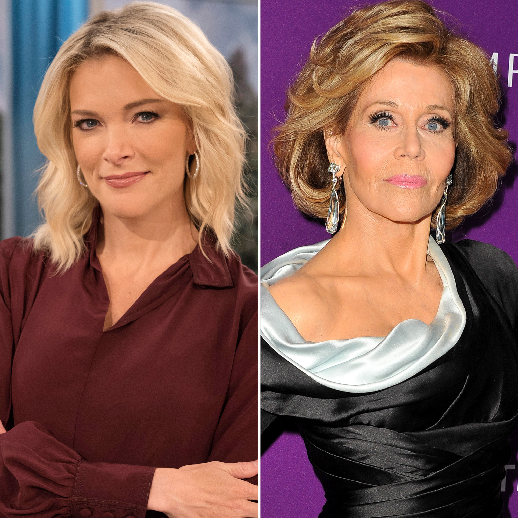 Megyn Kelly and Jane Fonda
