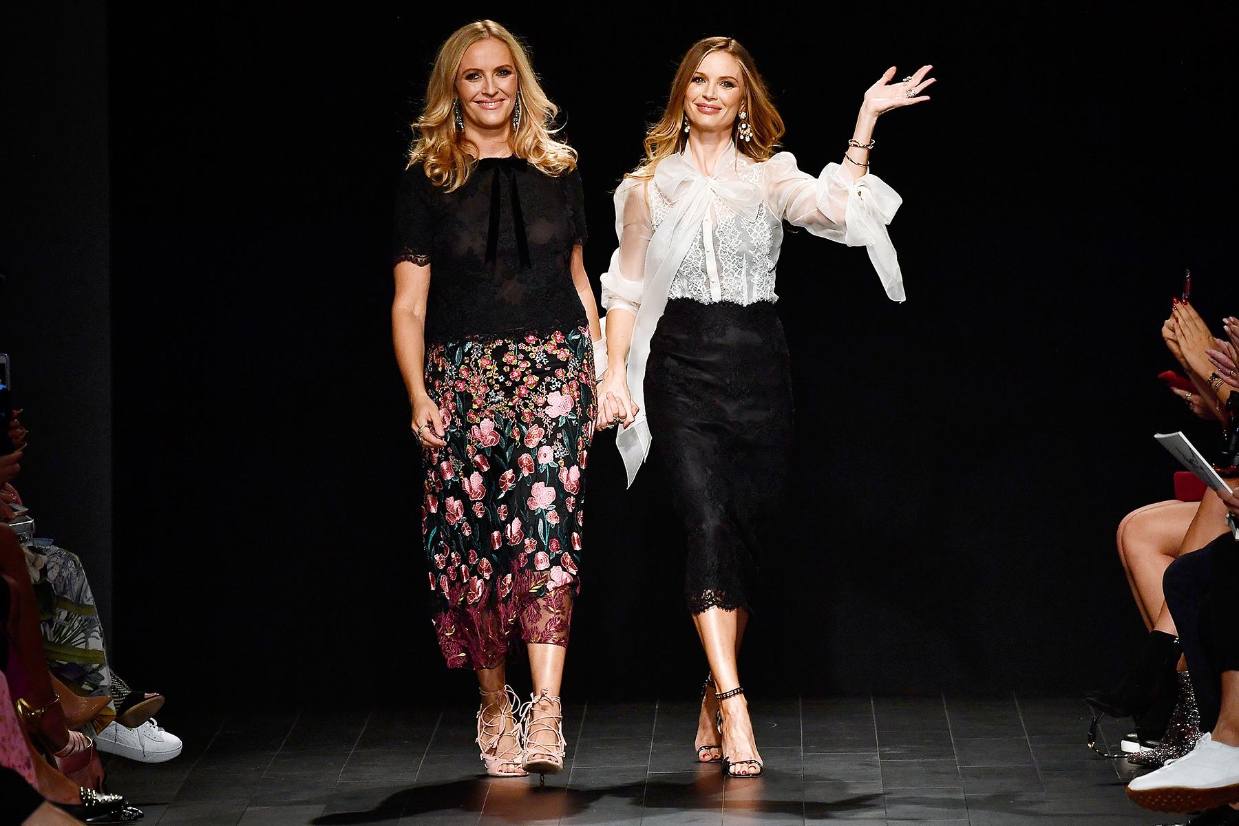 Keren Craig Georgina Chapman New York Fashion Week