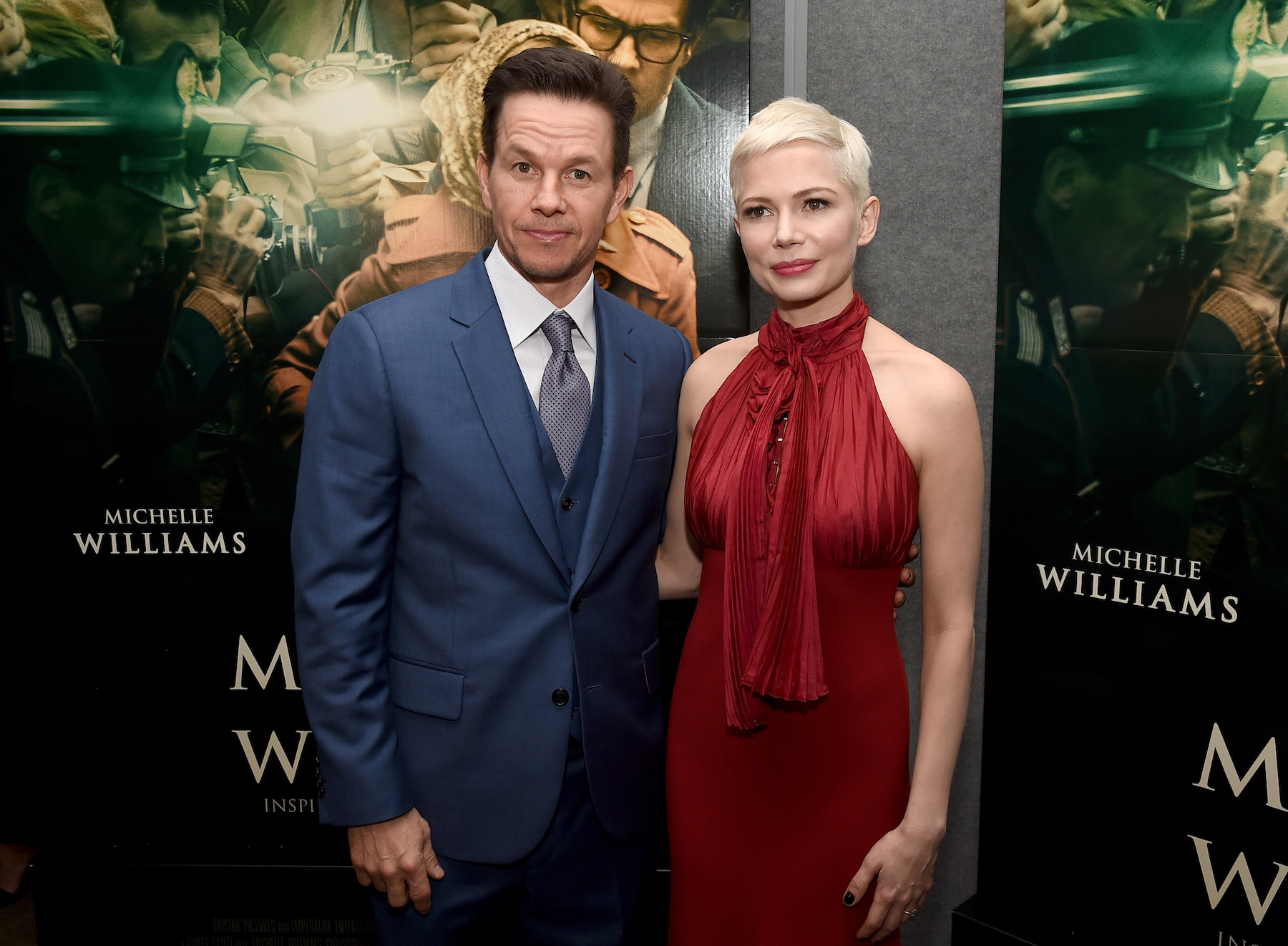 Mark Wahlberg and Michelle Williams