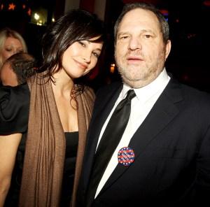 Gina-Gershon-and-Harvey-Weinstein