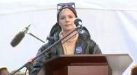 Halsey, Women's March 2018, Speech