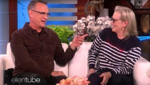 Tom Hanks Meryl Streep Ellen show