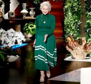 Helen Mirren on The Ellen DeGeneres Show