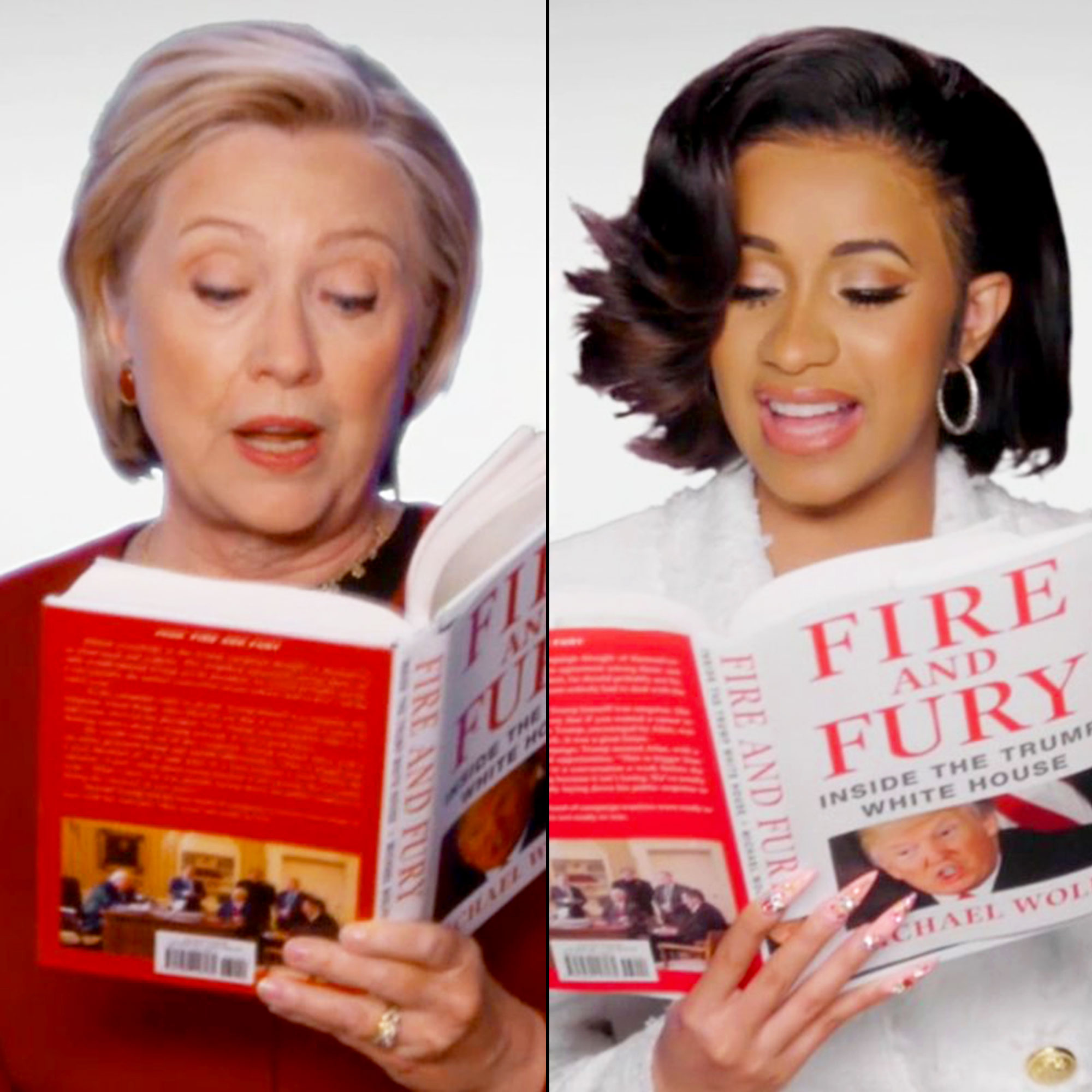 Grammys 2018: Stars Audition to Read 'Fire and Fury' Audiobook
