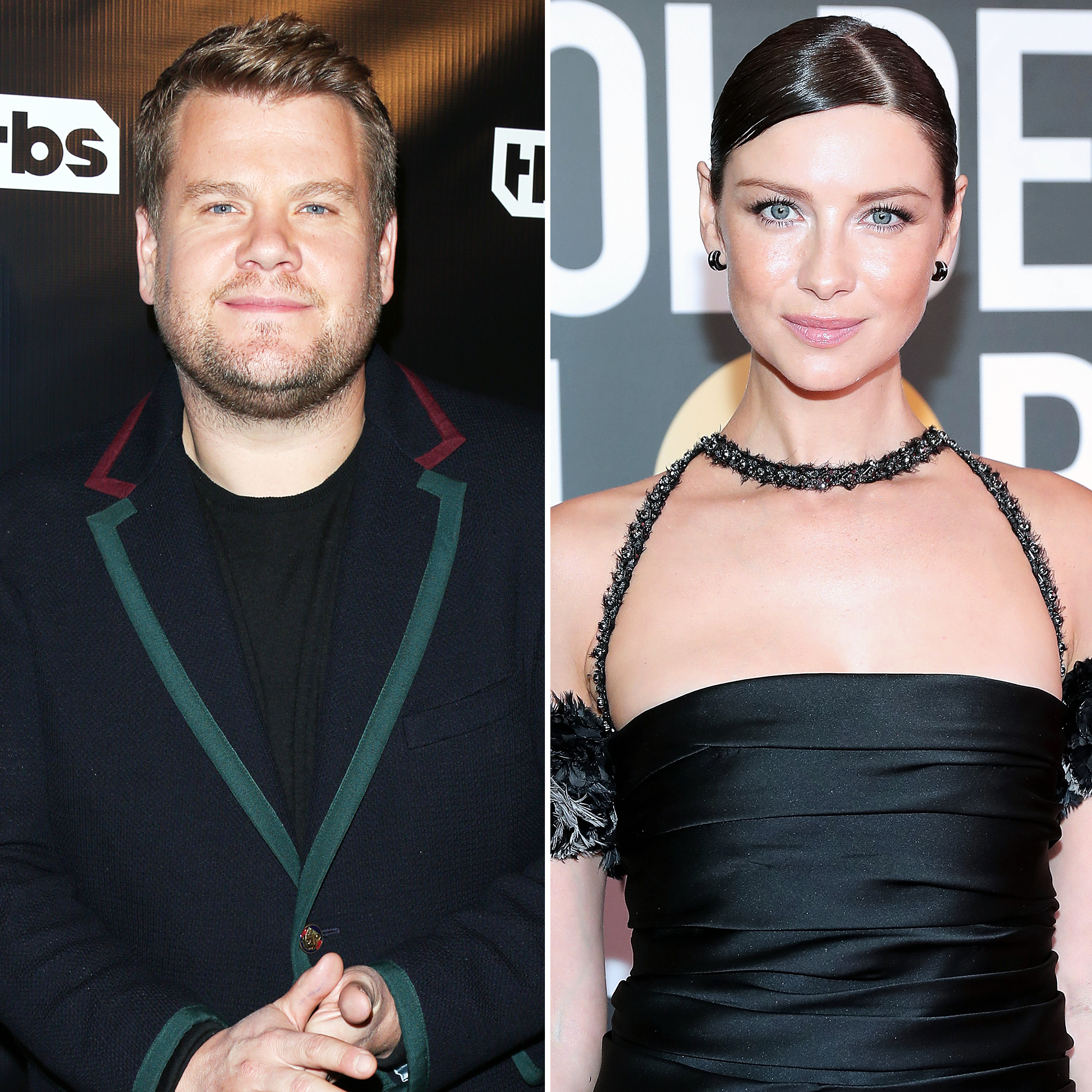 James Corden Caitriona Balfe remember Dolores O'Riordan