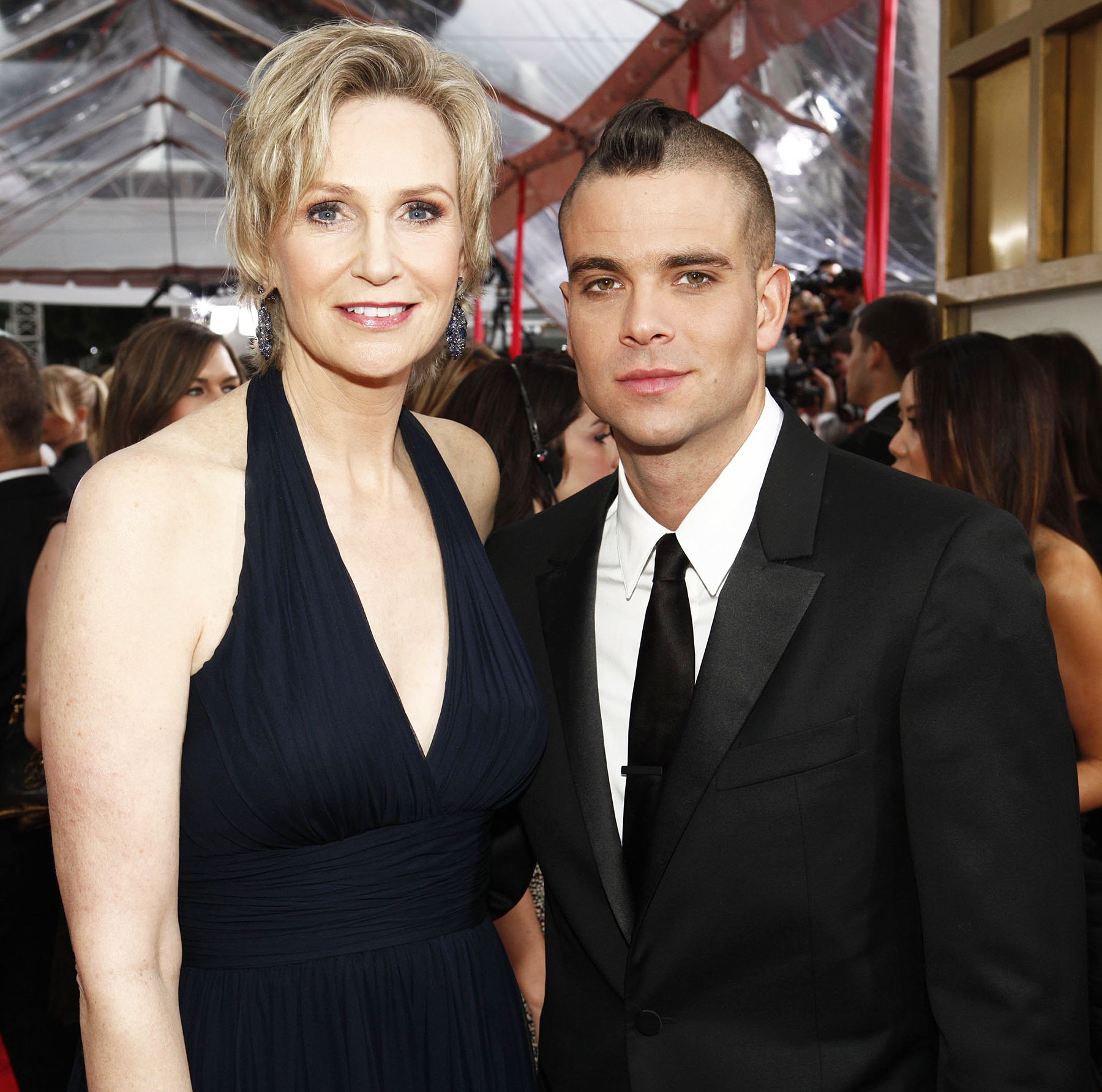 Jane Lynch Mark Salling