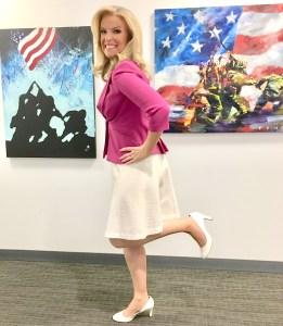 Janice Dean legs
