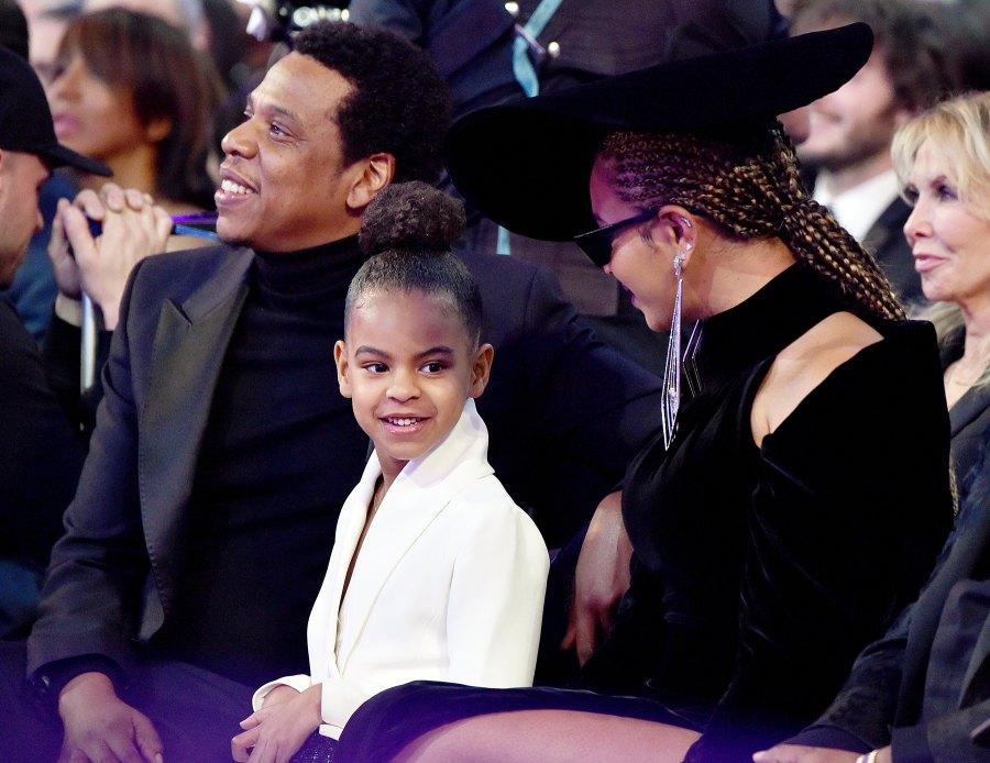Jay Z Blue Ivy Beyonce Grammys 2018