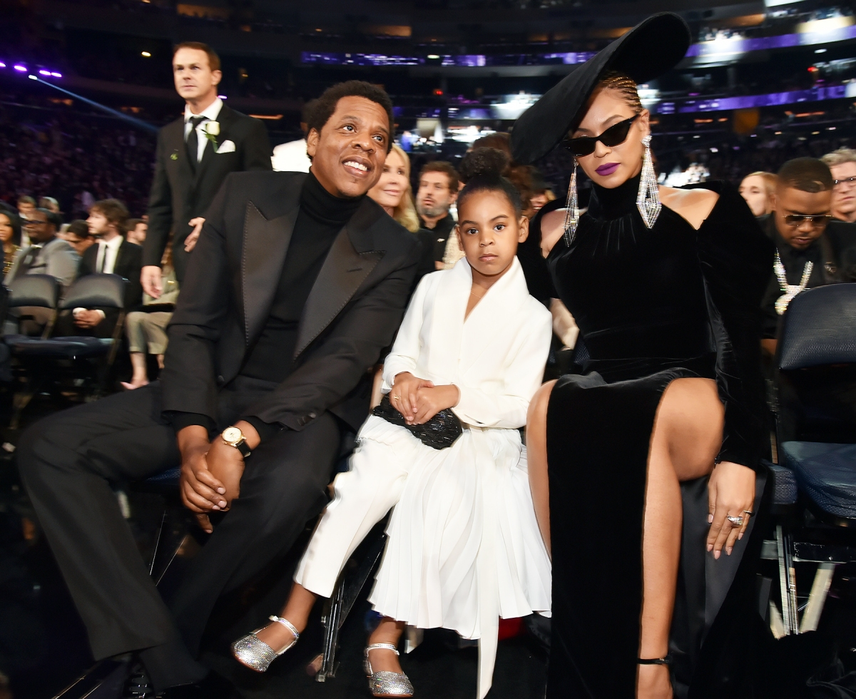 cdb146a37346 Blue Ivy Wears Sparkly Shoes to Grammy Awards 2018  Shop the Look