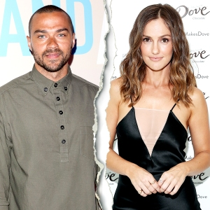 Jesse Williams and Minka Kelly split
