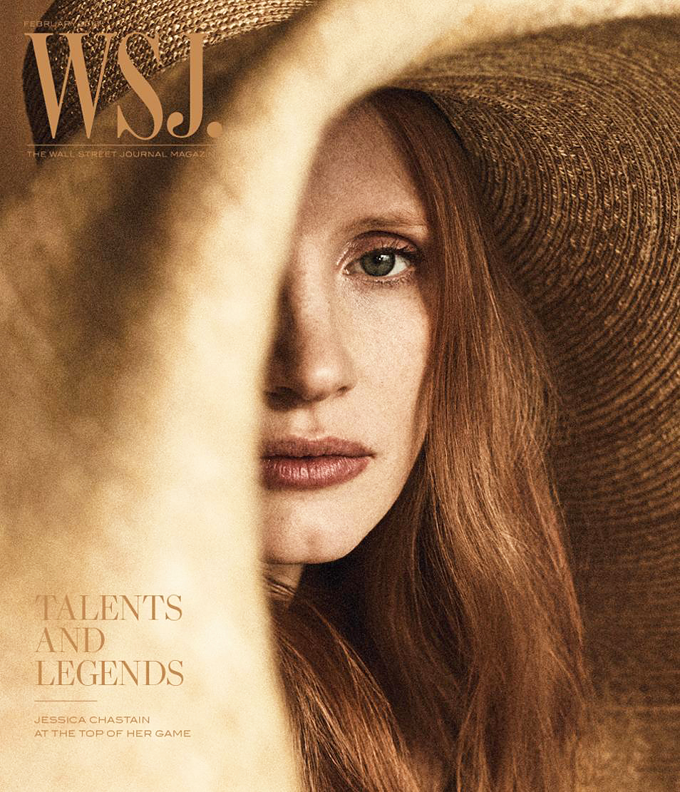 Jessica Chastain The Wall Street Journal Magazine cover