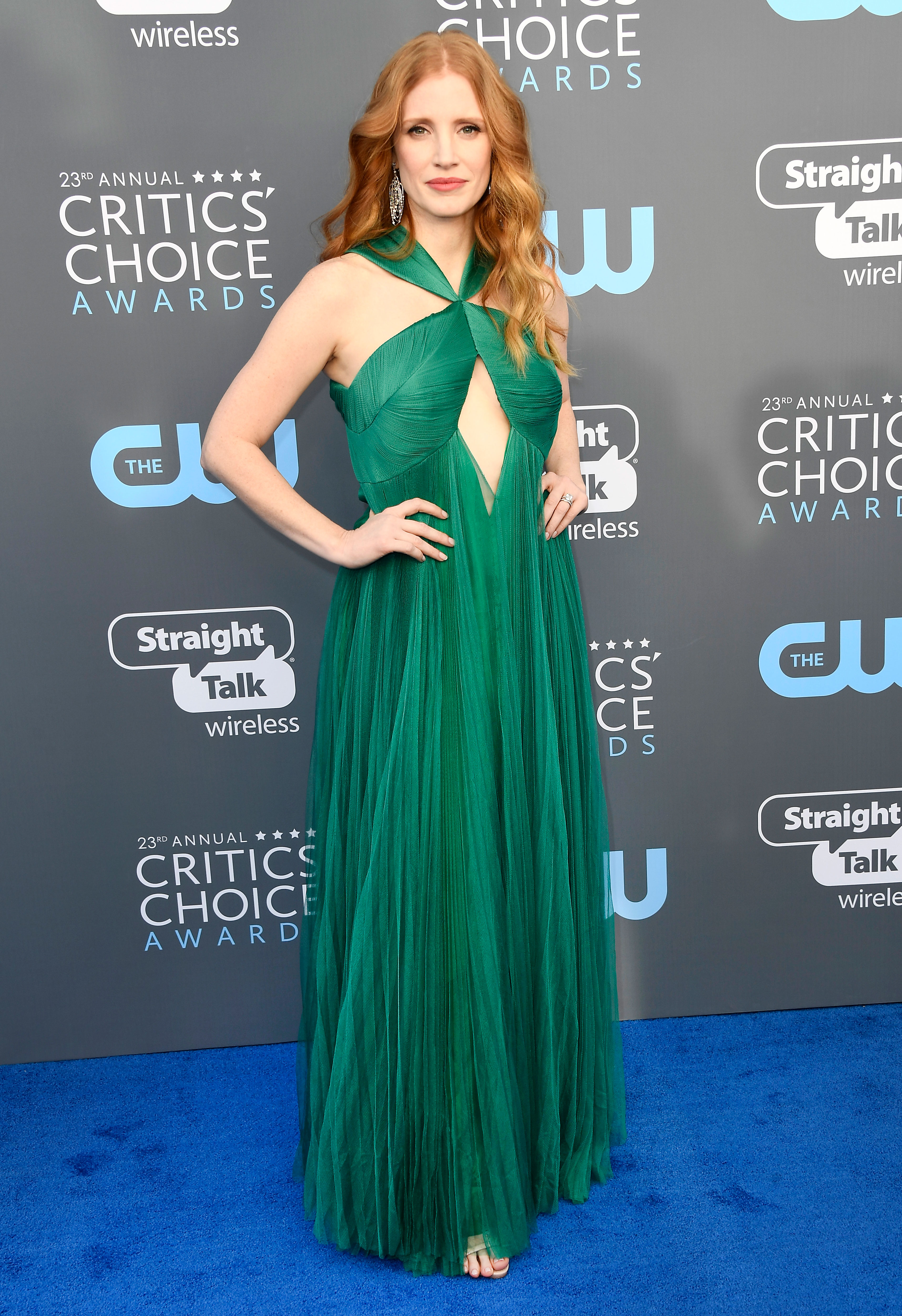 Critics\' Choice Awards 2018 Red Carpet Fashion: See Stars Dresses