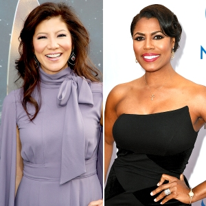 Julie Chen and Omarosa Big Brother