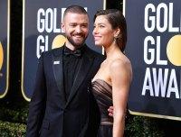 Justin Timberlake and actor Jessica Biel