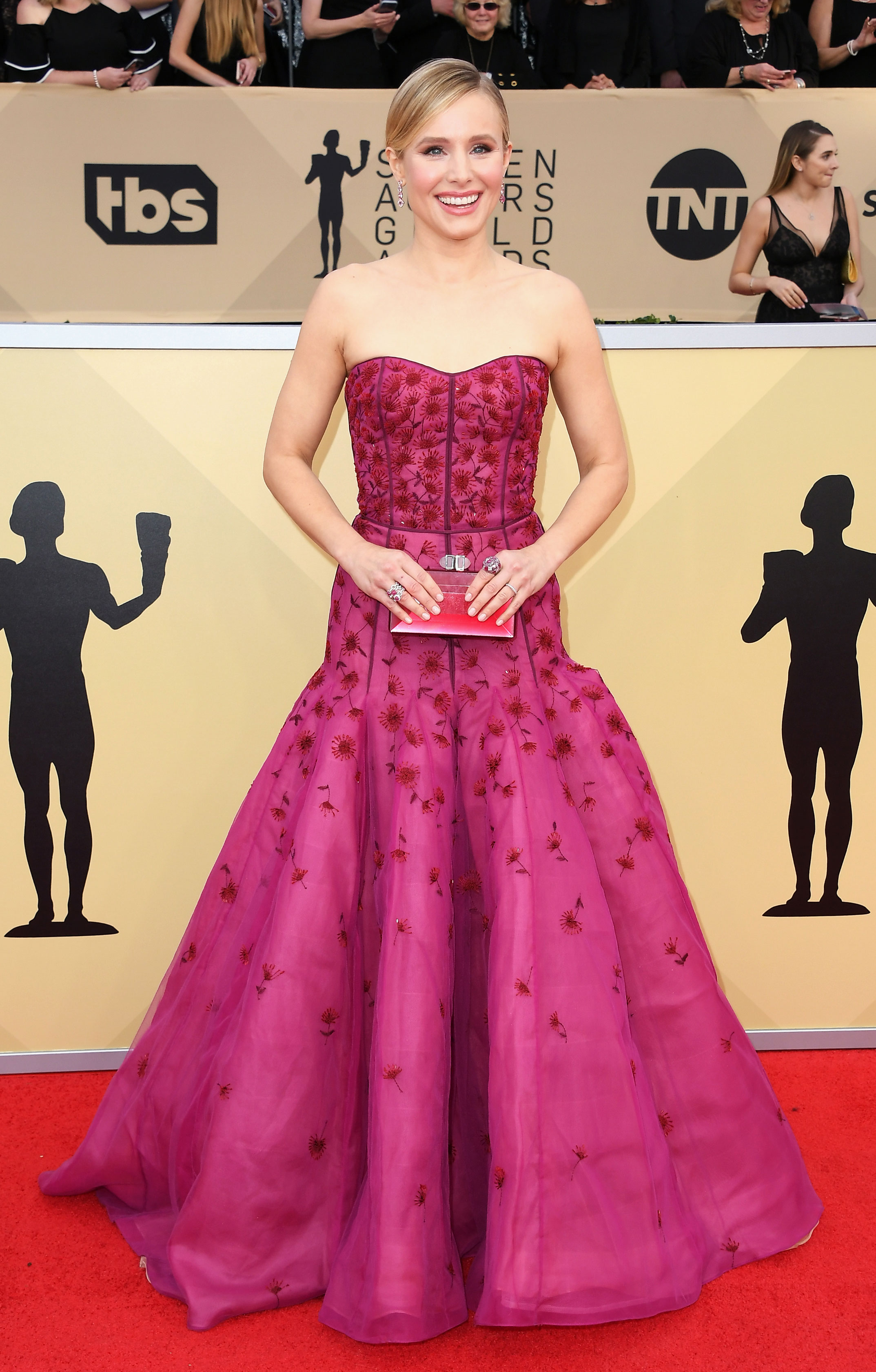 SAG Awards 2018 Red Carpet Fashion: See Stars Dresses, Gowns