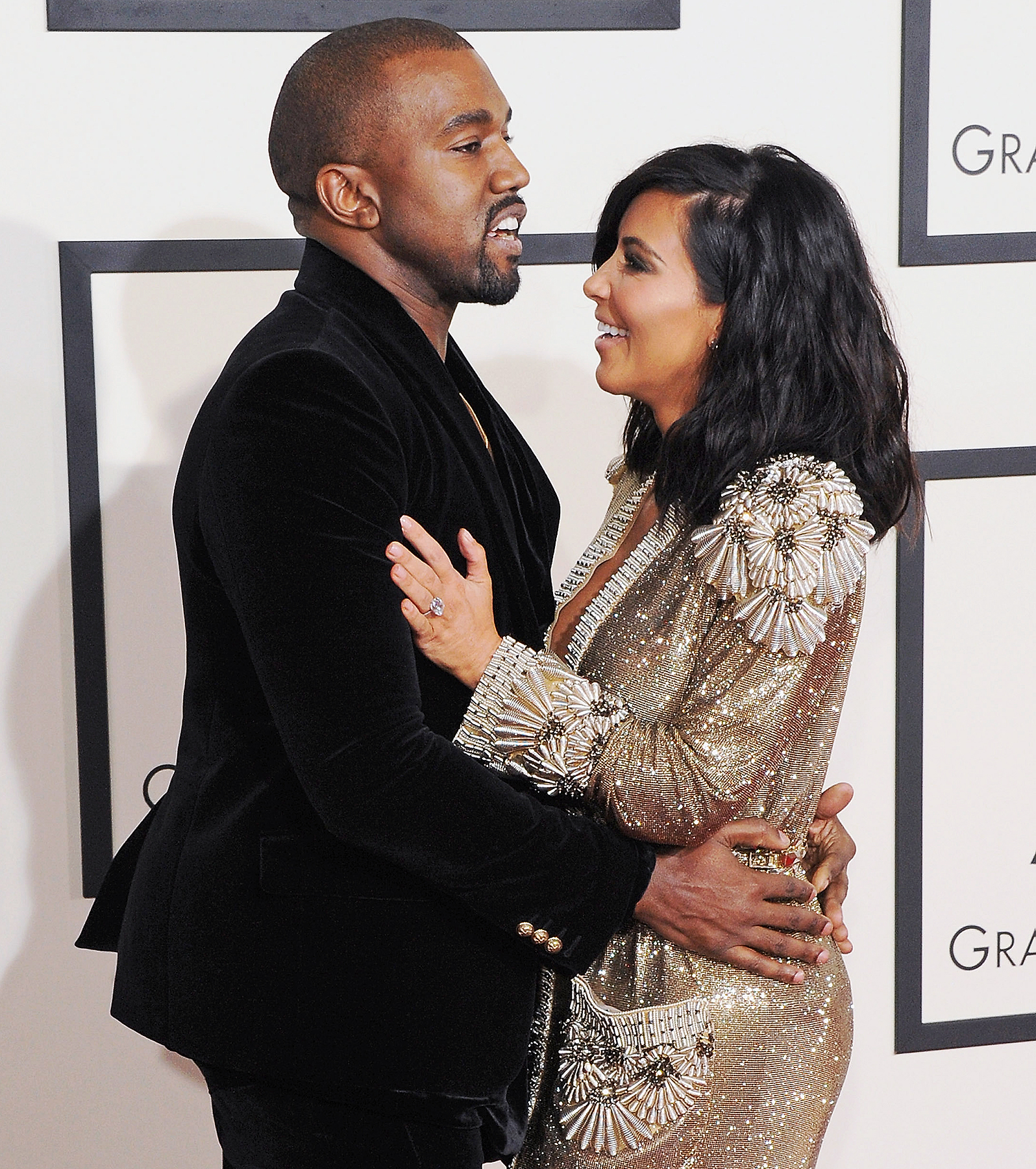 Kanye West Kim Kardashian Baby reactions